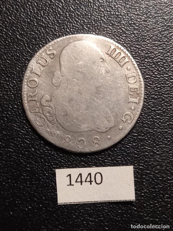 ESPAÑA 2 REALES 1808 MADRID (Numismática - España Modernas y Contemporáneas - De Reyes Católicos (1.474) a Fernando VII (1.833))