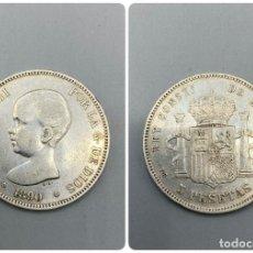 Monedas de España: MONEDA. ALFONSO XIII. 5 PESETAS. 1890. ESTRELLA LEGIBLE *18-90*. VER FOTOS.. Lote 231295640