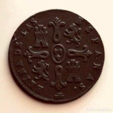 Monedas de España: BONITOS 8 MARAVEDIS ISABEL II 1840 CECA SEGOVIA. Lote 231721570