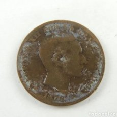 Monedas de España: ~ MONEDA DE 10 CENTIMOS ESPAÑA ALFONSO XII 1878 ~. Lote 231950800