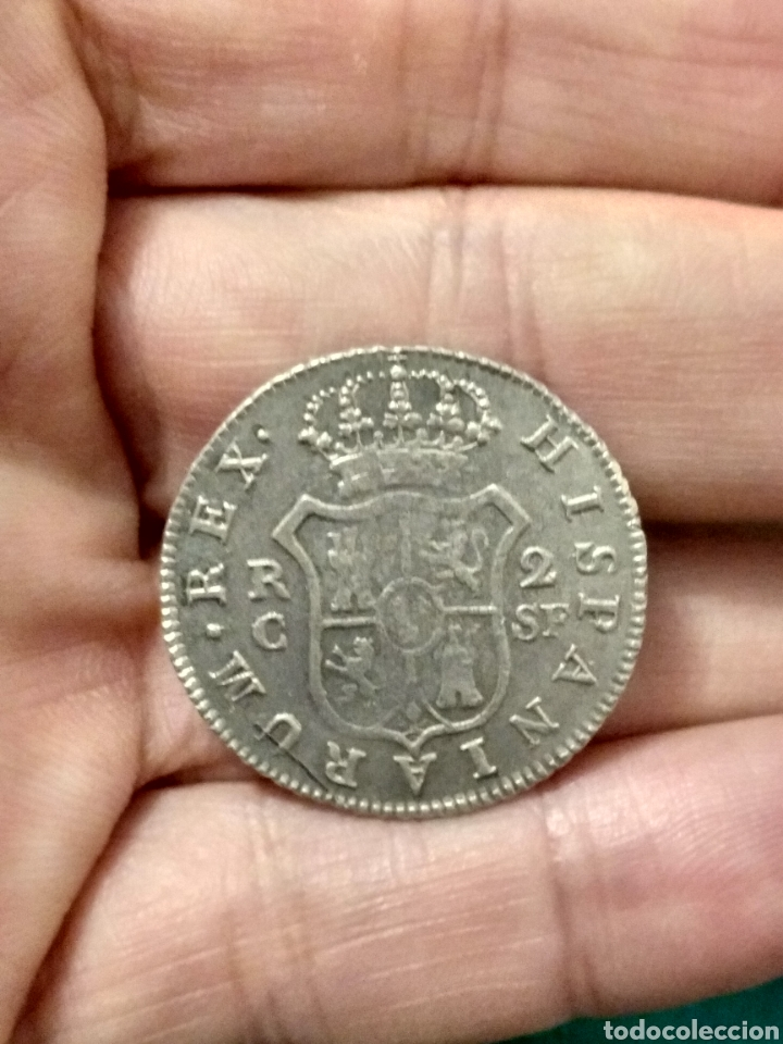 Monedas de España: EBC- MUY BONITOS DOS REALES 1811 FERNANDO VII CECA CATALUÑA PALMA MALLORCA PARTE DEL BRILLO ORIGINAL - Foto 3 - 24512419