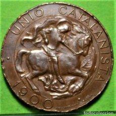 Moedas de Espanha: UNION CATALANISTA, 10 CÉNTIMOS, 1900, (EBC-) CU. Lote 232178825