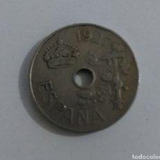Monedas de España: 25 CÉNTIMOS 1927. Lote 233034395