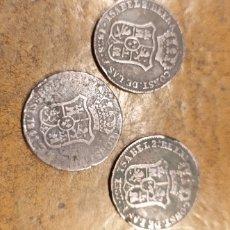 Monedas de España: 3 CUARTOS. Lote 233198835