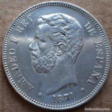 Monedas de España: OFERTA EXCEPCIONAL LOTE CENTENARIO EBC / EBC+ 3 DUROS 5 PESETAS DE PLATA 1871 1876 1898. Lote 228865425