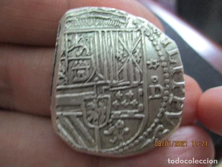 8 REALES POTOSI 1577-1587 , DIEGO DE LA TORRE (Numismática - España Modernas y Contemporáneas - De Reyes Católicos (1.474) a Fernando VII (1.833))