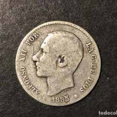 Monedas de España: MONEDA DE ESPAÑA 1 PESETA DE 1885 MSM. Lote 234580535