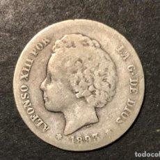 Monedas de España: MONEDA DE ESPAÑA 1 PESETA DE 1893 PGL. Lote 234580870