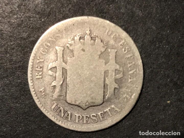 Monedas de España: Moneda de España 1 peseta de 1893 PGL - Foto 2 - 234580870