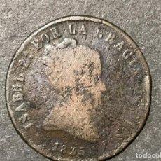 Monedas de España: MONEDA DE ESPAÑA 8 MARAVEDIES DE ISABEL II AÑO 1835. Lote 234657805