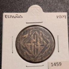 Monedas de España: ESPAÑA 4 QUARTOS 1809. Lote 234755070