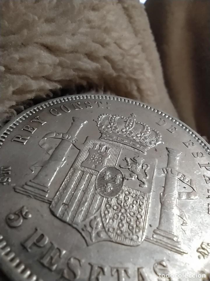Monedas de España: MONEDA 5 PESETAS DE PLATA ALFONSO XII 1882 *18-82 MSM - Foto 7 - 234896850