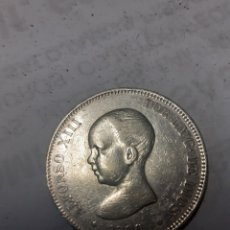 Monedas de España: 5 PESETAS ALFONSO XIII 1890 MPM. Lote 234946460