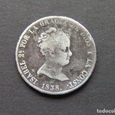 Monedas de España: ISABEL II - 4 REALES 1838 CL CECA DE MADRID. Lote 235487460