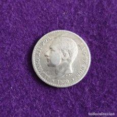 Monedas de España: MONEDA DE 50 CENTIMOS DE ALFONSO XII. BUSTO PEQUEÑO. PLATA. 1880 *8-0. ESPAÑA. ORIGINAL.. Lote 235504110