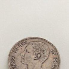 Monedas de España: 5 PESETAS 1875 DE M ALFONSO XII. Lote 235510025