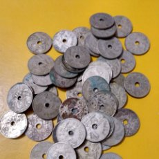 Monedas de España: 3CAJ- 50 MONEDAS DE 25 CÉNTIMOS DE 1927 ALFONSO XIII DIVERSAS CONSERVACIONES. VER FOTOS.. Lote 235514375