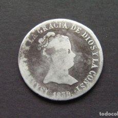 Monedas de España: ISABEL II - 4 REALES 1839 RD CECA DE SEVILLA. Lote 235523285