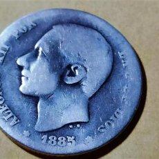 Monedas de España: ESPAÑA ALFONSO XII 1885 XX MSM 1 PESETA SILVER 3010 RARA. Lote 235582640