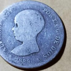 Monedas de España: ESPAÑA ALFONSO XIII 1889 XX MPG 1 PESETA SILVER RARA 3009. Lote 235582890