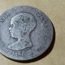 Monedas de España: ESPAÑA ALFONSO XIII 1891 18 X PGM 1 PESETA SILVER 3008. Lote 235583280