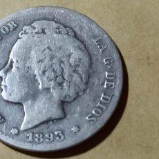 Monedas de España: ESPAÑA ALFONSO XIII 1893 XX PGL1 PESETA SILVER 3007. Lote 235584060