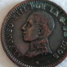 Monedas de España: MONEDA DE 2 CÉNTIMOS ALFONSO XIII. AÑO 1912. Lote 235827280