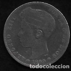 Monedas de España: MONEDA DE 1 PESETA - PLATA - ALFONSO XII -- 1899. Lote 235838785