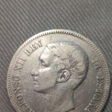 Monedas de España: 5 PESETAS 1876 ESPAÑA. Lote 236356620
