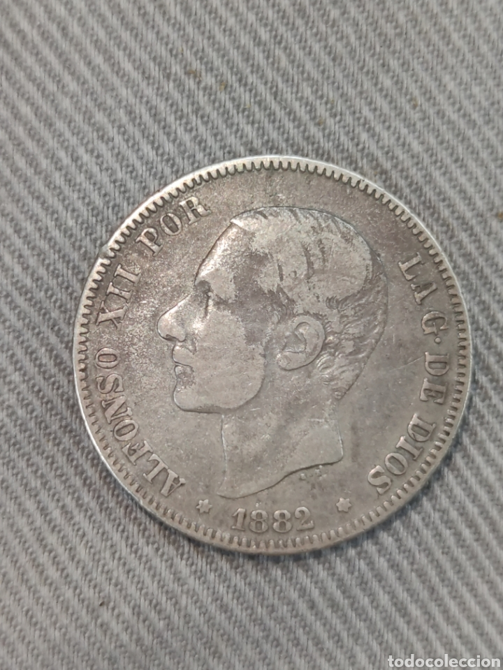 2 PESETAS 1882 ESPAÑA (Numismática - España Modernas y Contemporáneas - De Isabel II (1.834) a Alfonso XIII (1.931))