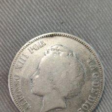 Monedas de España: 5 PESETAS 1894 ESPAÑA. Lote 236362150