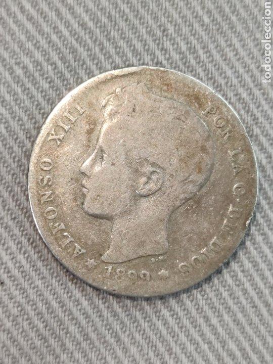 1 PESETA 1899 ESPAÑA (Numismática - España Modernas y Contemporáneas - De Isabel II (1.834) a Alfonso XIII (1.931))