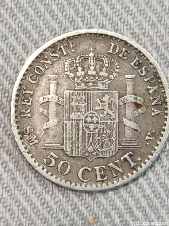 Monedas de España: 50 centimos 1904 España 0*4* - Foto 2 - 236363855