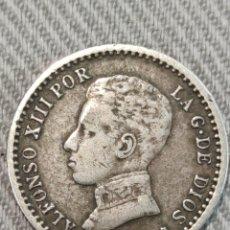 Monedas de España: 50 CENTIMOS 1904 ESPAÑA 0*4*. Lote 236363855