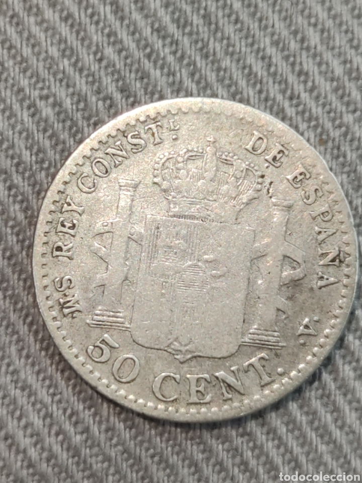 Monedas de España: 50 centimos 1904 España - Foto 2 - 236363995
