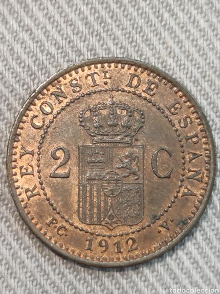 Monedas de España: 2 centimos 1912 España - Foto 2 - 236364345
