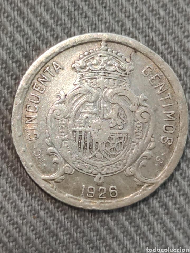 Monedas de España: 50 centimos 1926 España - Foto 2 - 236364660