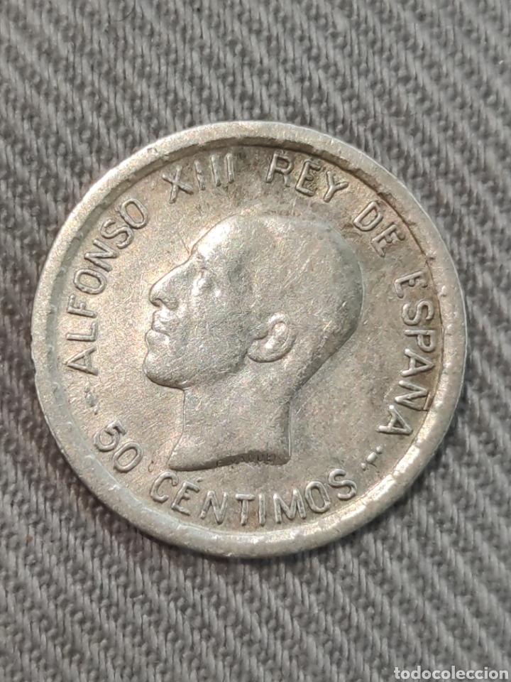 50 CENTIMOS 1926 ESPAÑA (Numismática - España Modernas y Contemporáneas - De Isabel II (1.834) a Alfonso XIII (1.931))