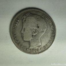 Monedas de España: ESPAÑA 1 PESETA 1899 SG V ESTRELLAS 1-* 99 * MUY FLOJAS ALFONSO XIII PLATA ¡¡LIQUIDACION COLECION. Lote 236690775