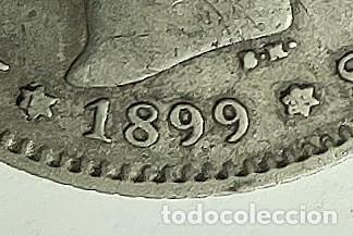Monedas de España: ESPAÑA 1 PESETA 1899 SG V ESTRELLAS 1-* 99 * muy flojas Alfonso XIII PLATA ¡¡LIQUIDACION COLECION - Foto 2 - 236690775