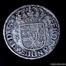 Monedas de España: FERNANDO VI-REAL-SEVILLA-PJ-1753-EBC. N072. Lote 236843240