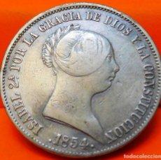 Monedas de España: ESPAÑA, 20 REALES, 1854. ISABEI II. SEVILLA. PLATA. (775). Lote 237009280