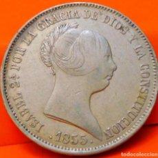 Monedas de España: ESPAÑA, 20 REALES, 1855. ISABEI II. MADRID. PLATA. (780). Lote 237013585