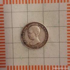 Monedas de España: ALFONSO XIII, 50 CÉNTIMOS 1892 *9-2, PGM.. Lote 237493225