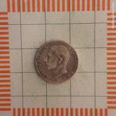 Monedas de España: ALFONSO XII, 50 CÉNTIMOS 1885 *8-6, MSM.. Lote 237493865