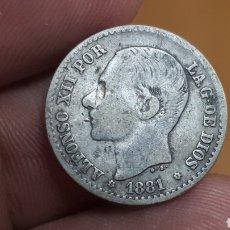 Monedas de España: 50 CENTIMOS 1881 *8/1. Lote 237511080