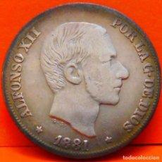Monedas de España: ESPAÑA,10 CENTAVOS,1881.ALFONSO XII.ISLAS FILIPINAS. PLATA. BUENA CALIDAD. (810). Lote 239551845
