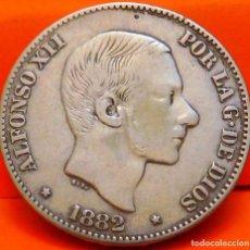 Monedas de España: ESPAÑA, 50 CENTAVOS, 1882. ALFONSO XII. ISLAS FILIPINAS. PLATA. (818). Lote 239842670