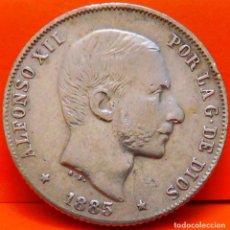Monedas de España: ESPAÑA,20 CTS.,1885.ALFONSO XII.ISLAS FILIPINAS.PLATA. BUENA CALIDAD. (822). Lote 239848990