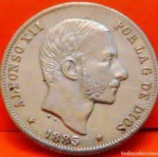 Monedas de España: ESPAÑA,20 CTS.,1885.ALFONSO XII.ISLAS FILIPINAS.PLATA. BUENA CALIDAD. (823). Lote 239850695